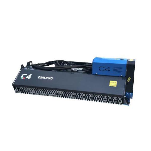 Decespugliatrice Idraulica per Minipala SERIE DML